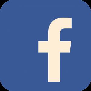 facebook, flat, flat icon
